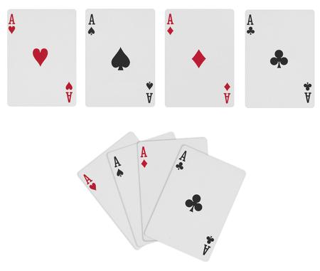 白い背景に分離された火かき棒カード 写真素材