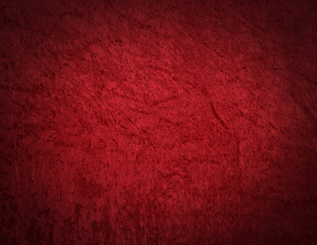 Red Velvet Background texture with copy space Stockfoto