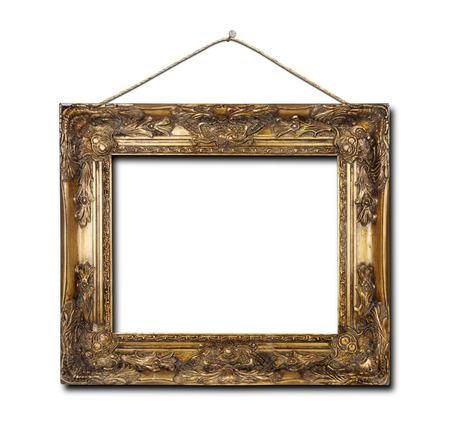 Leeg frame geïsoleerd op een witte achtergrond?