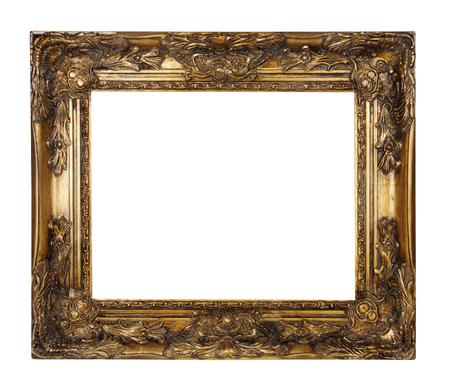 afbeeldingsframe geïsoleerd op een witte achtergrond