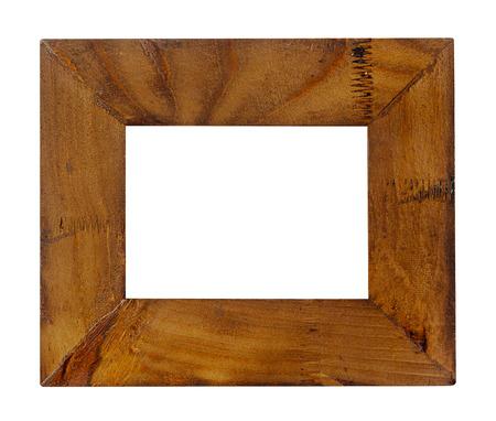 Lege oude houten frame
