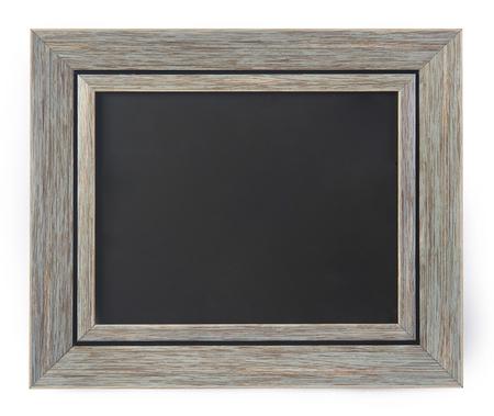 Blanco schoolbord in een frame