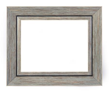 marco madera: marco vacío de madera vieja