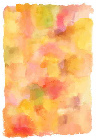 hues: An abstract artistic pastel yellow and orange watercolor background texture.