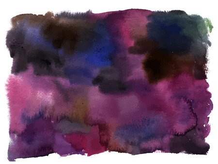 watercolor background texture with dark purple brushstroke