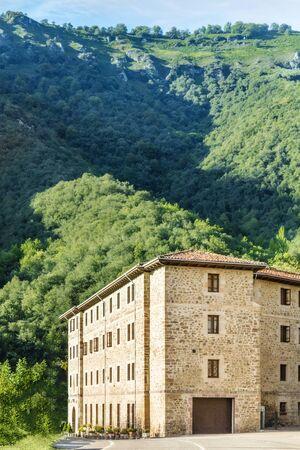 Monastery of Santo Toribio de Liebana in Cantabria, Spain Stock Photo