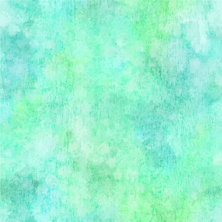 Vector and watercolor abstract teal blue background texture