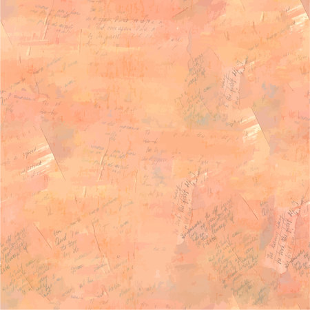 Vector texture of abstract handwritten texts, vintage collage