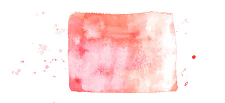 An abstract pastel pink watercolor background texture, scalable vector frame with a place for text