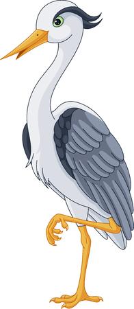 gray herons: grey heron
