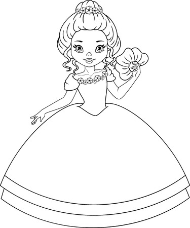 Niedlich Kostenlose Prinzessin Färbung Seite Bilder - Ideen färben ...