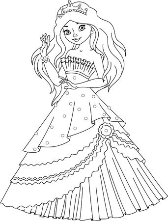 princess mermaid coloring pages Princess Mermaid Coloring Page Royalty Free Cliparts, Vectors, And  princess mermaid coloring pages