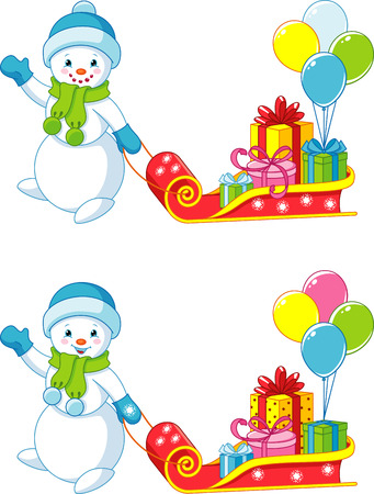 Find 10 differences, game for children Illustration