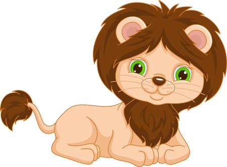 little lion Banque d'images - 103853980