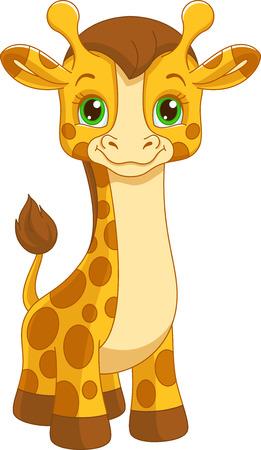 giraffe baby Banque d'images - 115415825