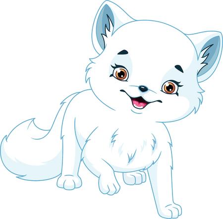 arctic fox Banque d'images - 115415830