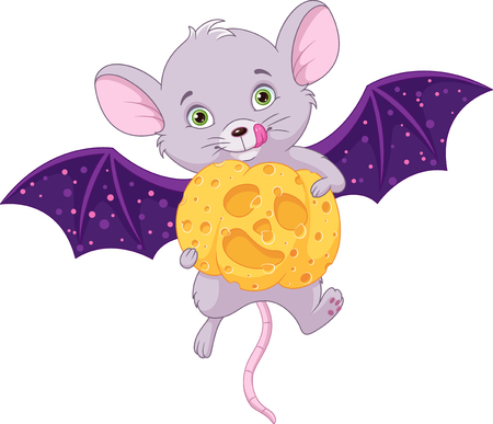 Mouse in halloween. Banque d'images - 115415838