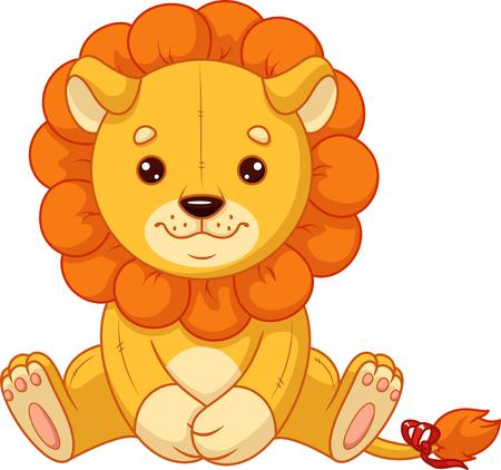 Plush toy lion Banque d'images - 115415842