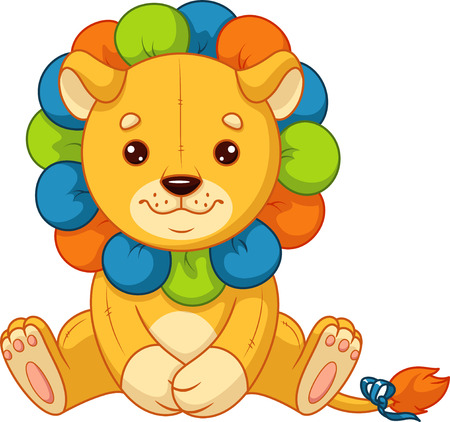 Baby toy lion Banque d'images - 115415843
