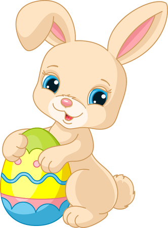 Easter bunny Banque d'images - 123564943