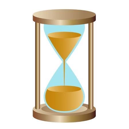 Hourglass realistic
