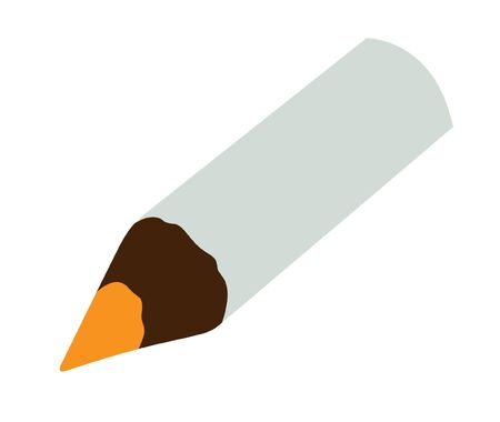 The pencil white