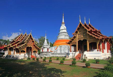 Wat Phra Sing, Chiang Mai province, Thailand photo