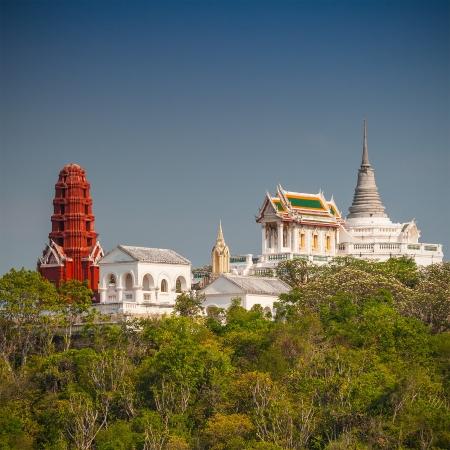 The Khao wung palace at petchburi province,Thailand  photo