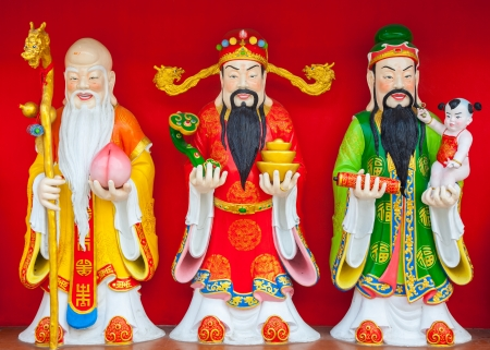 fu: Fu Lu Shou ,Three Chinese lucky gods