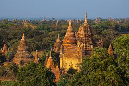 temples in Bagan, Myanmar  photo