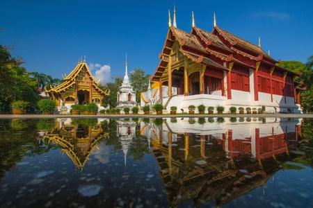 Wat Phra Sing, Chiang Mai, Thailand  Stock Photo