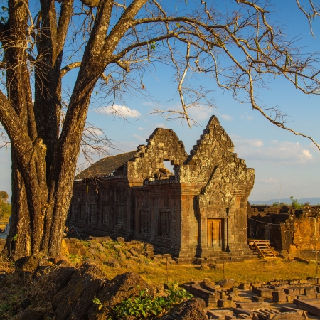 Vat Phou Wat Phu o photo