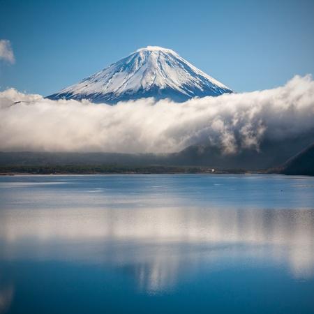 Mountain Fuji in winter  photo