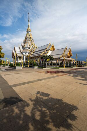 Sothorn Temple at Chachoengsao province, Thailand  photo