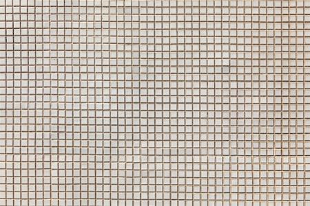 white mosaic pattern  photo