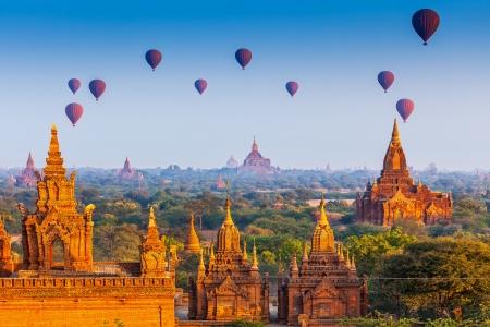 los templos de Bagan, Myanmar