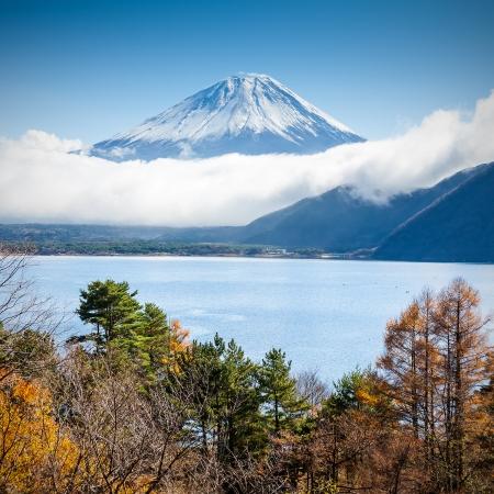 fuji: Mt Fuji view from the lake