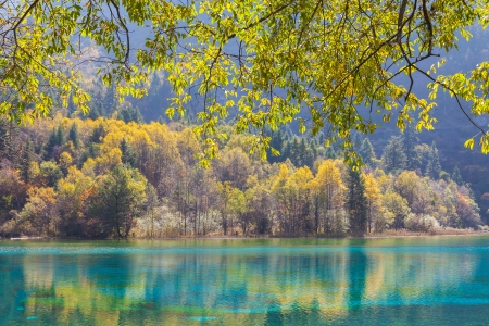 Jiuzhaigou Valley Scenic and Historic Interest Area, Sichuan, China photo