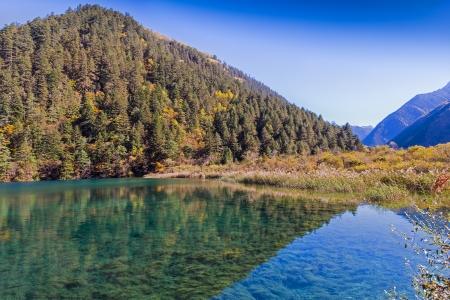 Jiuzhaigou Valley Scenic and Historic Interest Area, Sichuan, China photo