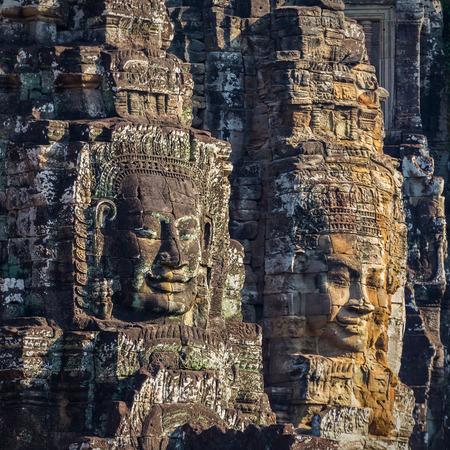Bayon Temple in Angkor,Cambodia  photo