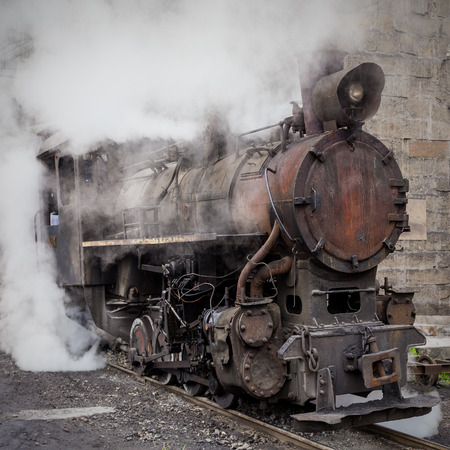 footplate: steam train