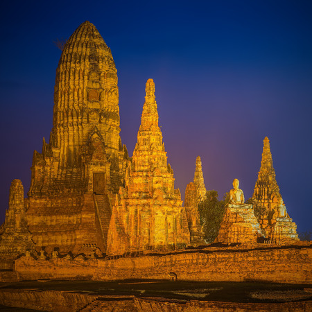 ayuthaya: Temple wat Chaiwatthanaram of Ayuthaya Province Thai