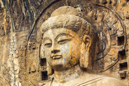 notable: Longmen Grottoes with Buddhas figures are Starting with the Northern Wei Dynasty in 493 AD. It is one of the four notable grottoes in China.