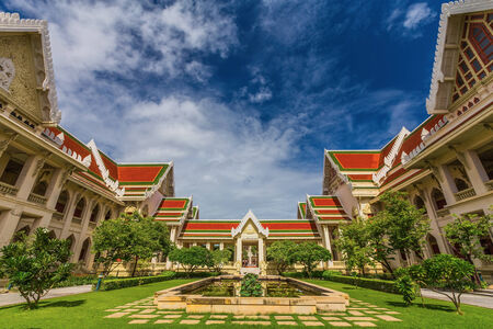 Architecture in Chulalongkorn University, Bangkok, Thailand