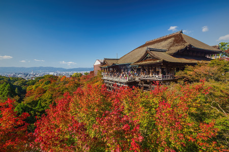 Kiyomizu-dera Temple in Japan