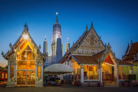 Wat Mahathat Worawihan temple in Phetchaburi, Thailand Editorial