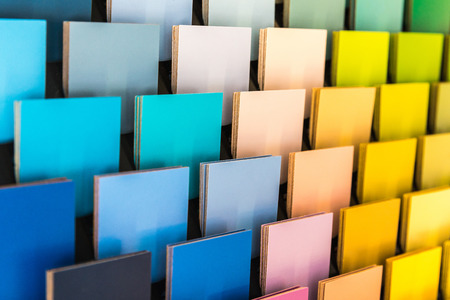 Colorful shingle pantone