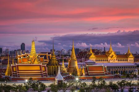 Wat phra keaw and Grand palace at Bangkok City, Thailand