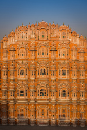 Hawa Mahal, a palace in Jaipur, India, which was built so the women of the royal household could observe street festivals