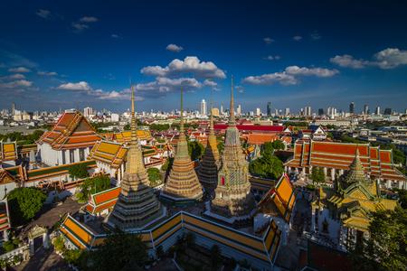 Wat Pho Buddhist temple in Bangkok, Thailand